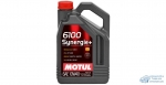 Масло моторное MOTUL 6100 Synergie 10W40 SN/CF полусинтетическое, универсальное 4л