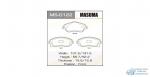 Колодки дисковые MASUMA OPEL/CORSA/V1300, V1400, V1600, V1700, V1800 front (1/12)