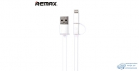 Кабель ReMax AURORA High speed microUSB/iPhone5 White