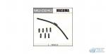 Щетка стеклоочистителя Masuma 600мм (24) бескаркасная, с графитовым напылением, 1 шт