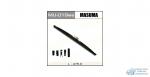 Щетка стеклоочистителя Masuma Optimum 475мм (19) каркасная зимняя, с графитовым напылением, 1 шт