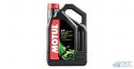 Масло для мотоциклов MOTUL 5000 10W40 полусинтетическое, 4-х тактное 4л