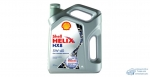 Масло моторное Shell HELIX HX8 5W40 SN/CF синтетическое, универсальное 4л