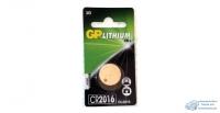 Элемент питания GP CR2016 BL-1/10 (1шт)