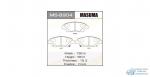 Колодки дисковые Masuma JAZZ.GM2/3.GE8 front (1/12)