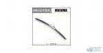 Щетка стеклоочистителя Masuma 375мм (15) бескаркасная, с графитовым напылением, для левого руля, 1 шт