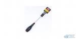 Отвертка AmPro минус, L150х6мм, Cr-Mo, Прорезиненная ручка