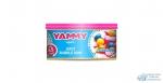 Ароматизатор на торпедо Yammy Bubble Gum с растительным наполнителем, баночка Bubble Gum 42 гр. (1/60)