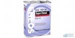 Масло моторное Eneos Diesel SUPER 5w30 CG-4 полусинтетическое, для дизельного двигателя 4л