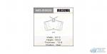 Колодки дисковые MASUMA ACCORD/ 2000, 2200, 2400 rear