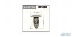 Клипса крепежная Masuma 2014-KJ (уп.50шт) салонная светло-серая
