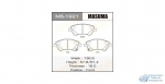 Колодки дисковые MASUMA COROLLA/ ADE150, NDE150, NRE150 front