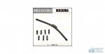 Щетка стеклоочистителя Masuma 450мм (18) бескаркасная, с графитовым напылением, 1 шт