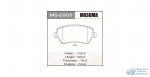 Колодки дисковые Masuma MICRA C+C, NOTE, ALMERA 05- front (1/12)