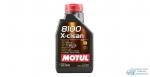 Масло моторное MOTUL 8100 X-clean 5W40 SM/CF синтетическое, универсальное 1л
