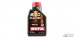 Масло моторное MOTUL 8100 Eco- lite 0W20 SM/SN/CF синтетическое, универсальное 1л